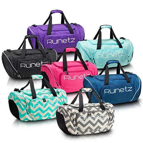 Runetz - Gym Bag Sport Shoulder Bag for Men   Women Duffel 20