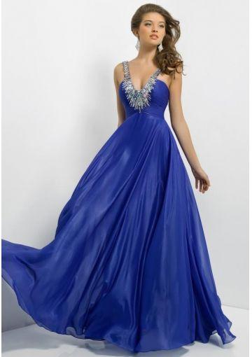 Royal Blue Long Prom Dresses Photo Album - Reikian