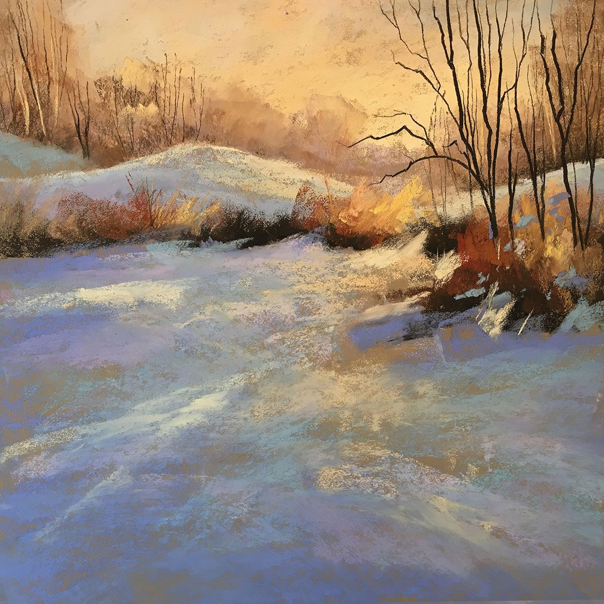 Landscape Painting With Les Darlow And Schmincke Soft
