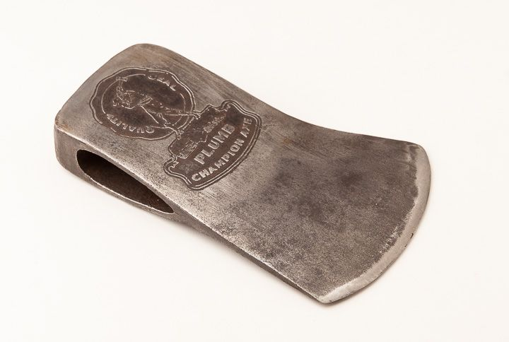 Crisp 4 Pound Plumb Champion Embossed Axe 4 78 X 7 12 Inches