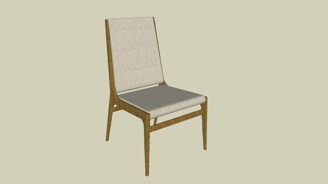 4209 - Cadeira Sem Braços Gurizada - 3D Warehouse