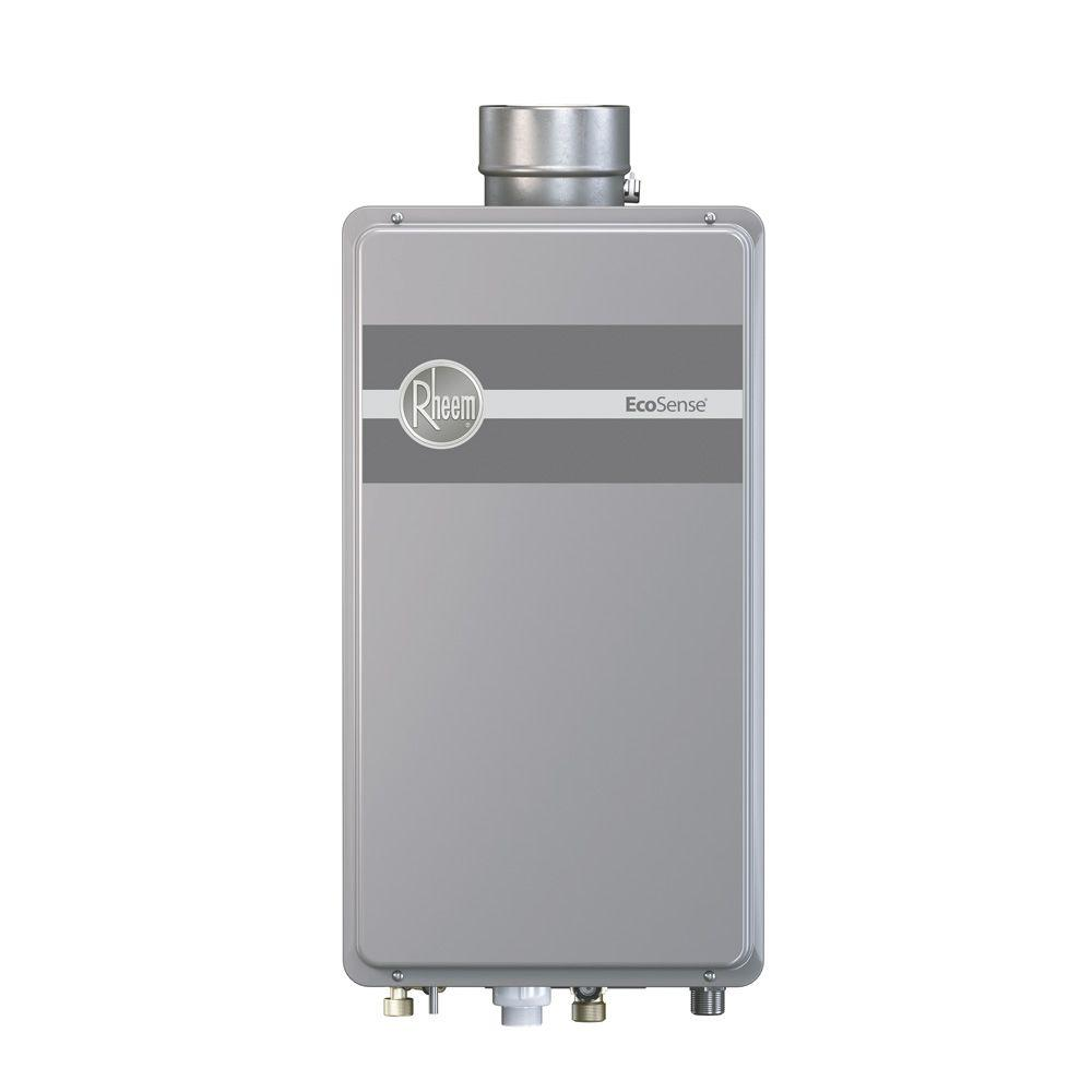 Rheem Performance Plus 8 4 Gpm Natural Gas Indoor Tankless Water Heater Eco180dvln3 1 Gas Water Heater Water Heater Tankless Water Heater