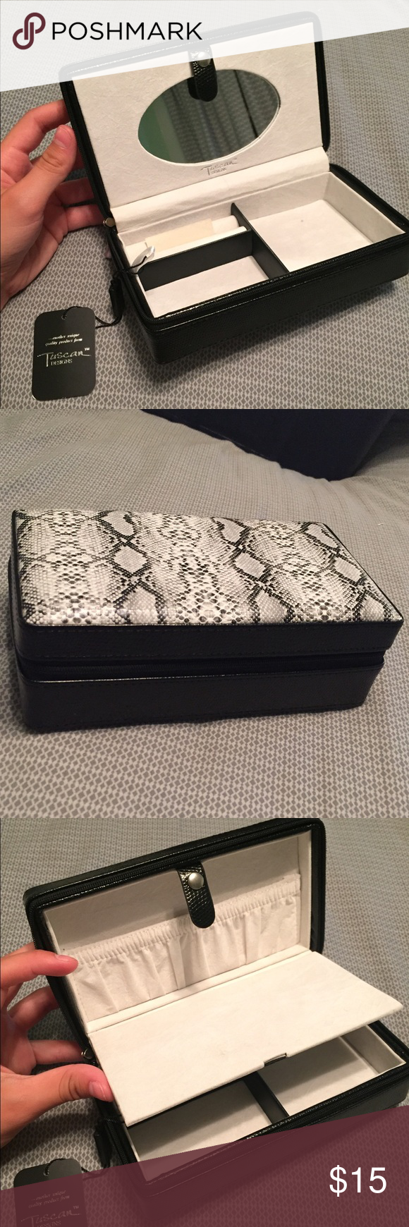 Tuscan Designs Travel Jewelry Box Travel jewelry box Tuscan
