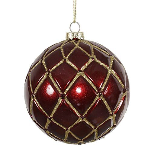 Vickerman 341681 4 Burgundy Candy Glitter Net Ball Christmas Tree Ornament 6 Pack M145005 Christmas Ornaments Top Brands Artists Designer Names Gold Christmas Ornaments Christmas Ornaments Christmas Tree Ornaments