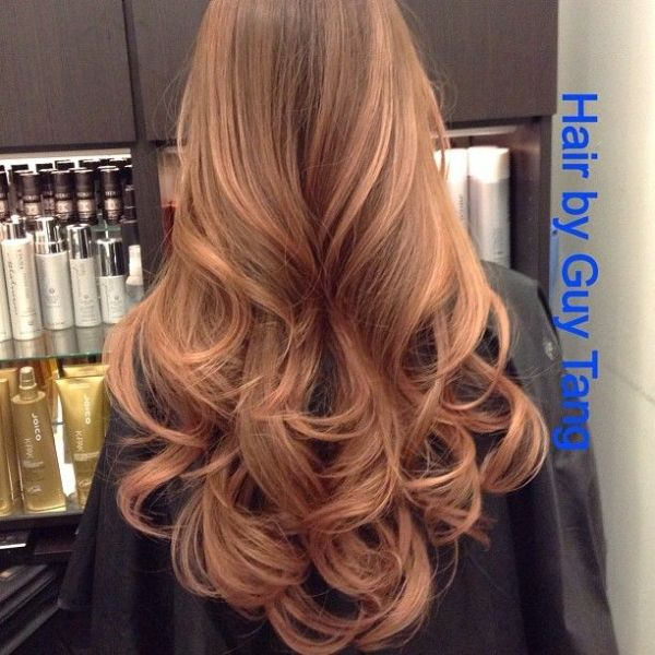 Guy Tang Rose Gold Hair Maybe A Few Highlightslowlights Maybe