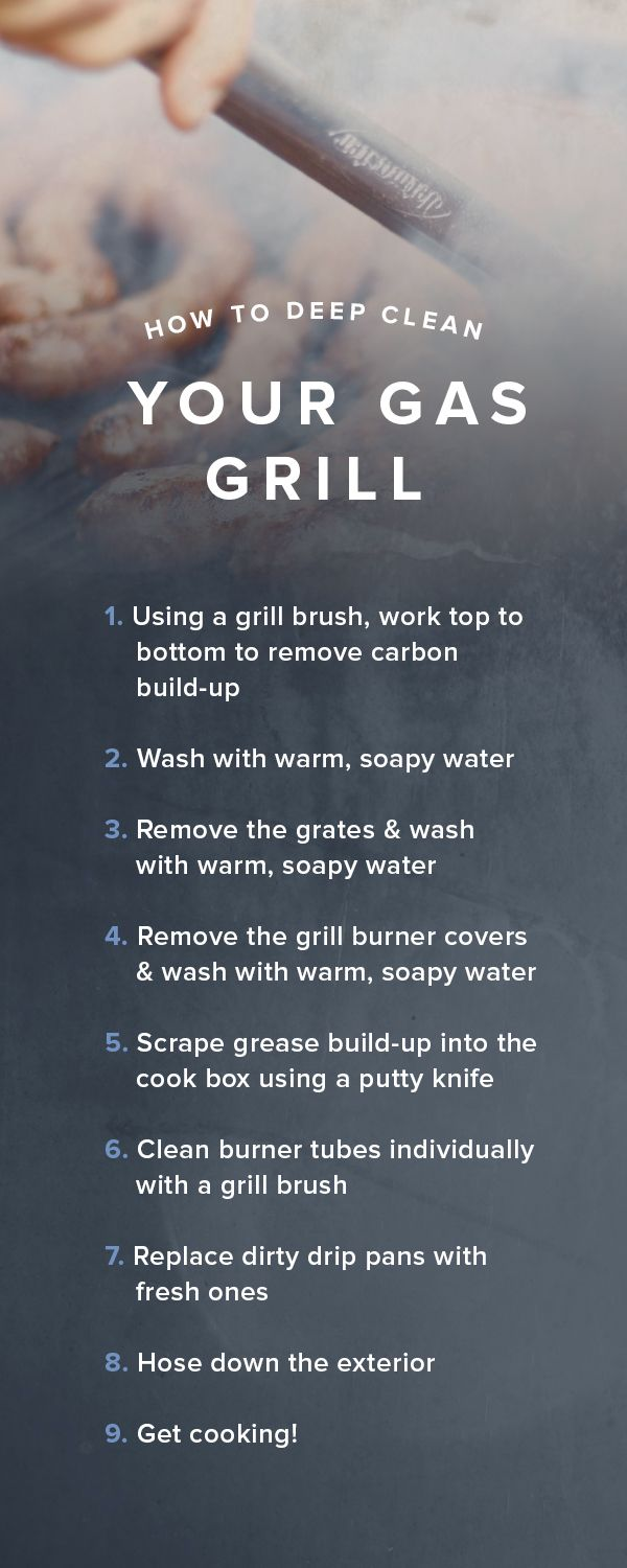 Don't skip it! How to deep clean your gas grill | CLEANING