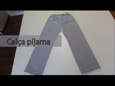 5f12b4df3 Costura da calça pijama - YouTube | Masina de cusut | Sewing ...