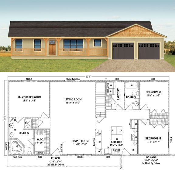 Westchester Wardcraft Homes New House Plans Dream House Plans House Layouts