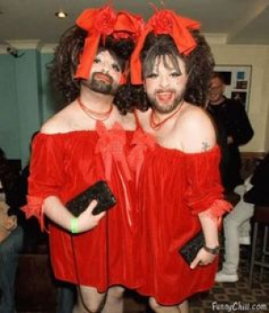 Bearded Ladies Circus Freaks Costume Idea #Funny Halloween Costume Ideas for Men #Halloween #Costumes #Men  sc 1 st  Pinterest & Bearded Ladies Circus Freaks Costume Idea #Funny Halloween Costume ...