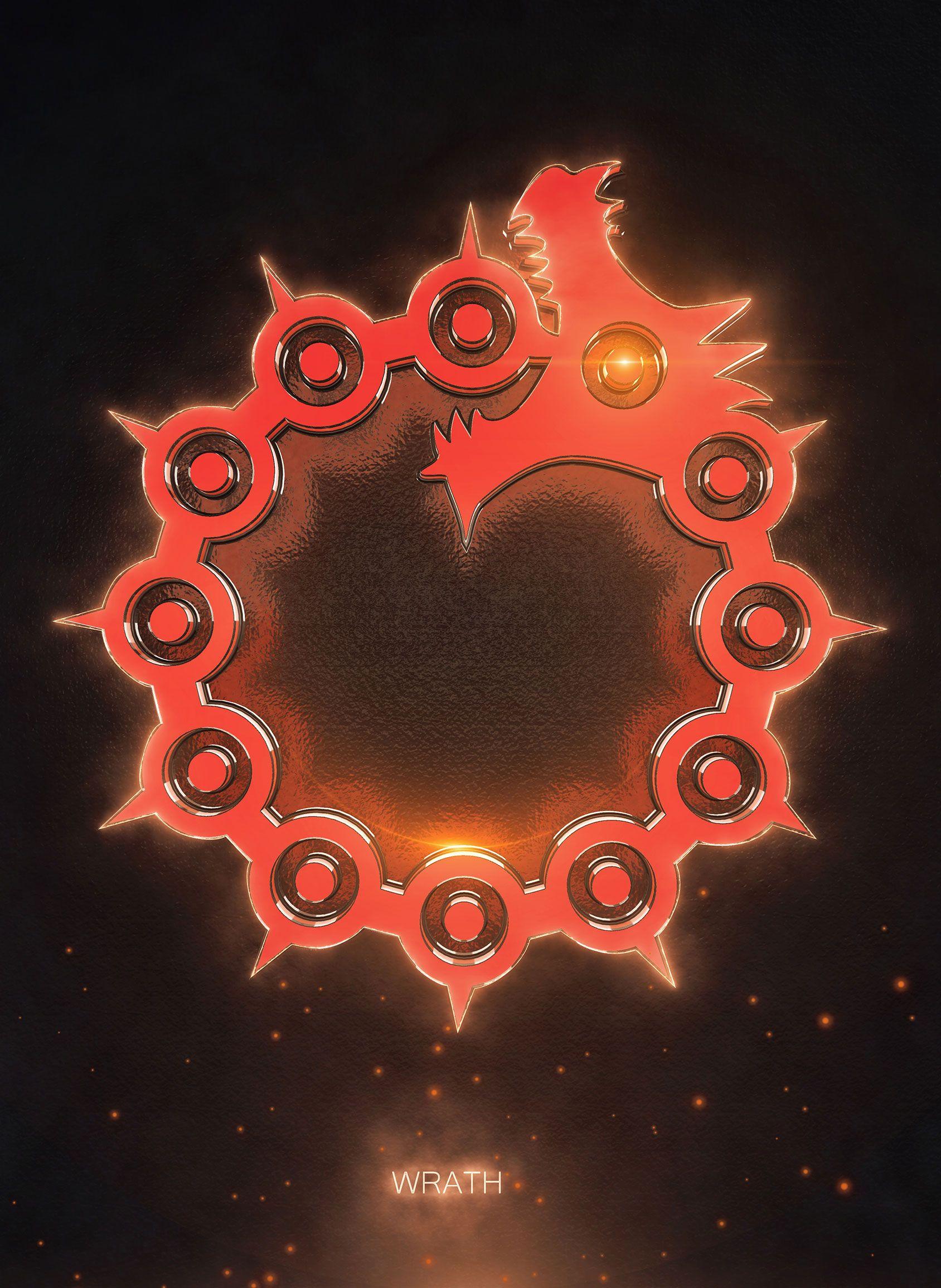 3D Wrath Emblem