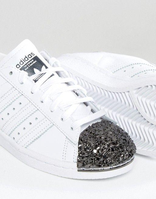 adidas originals with silver toe
