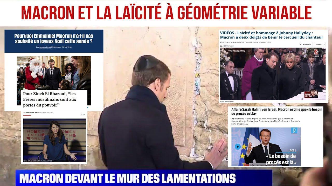 Macron et la laïcité à géométrie variable par Salim Laïbi