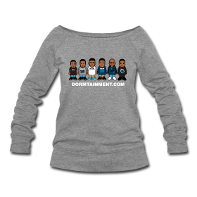 Character Wideneck Sweatshirt. #Dormtainment Yes, I'm a fan. No, don't judge