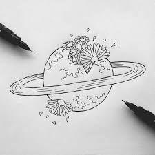 Resultado De Imagem Para Saturno Desenho Tumblr Desenho