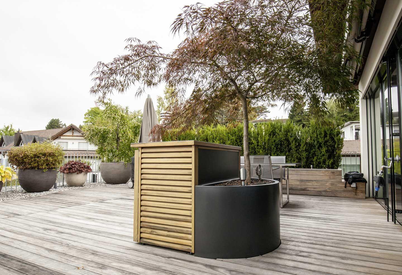 Terassengestaltung  Terrassengestaltung Waldegg | Terrasse Ost | Pinterest | Articles