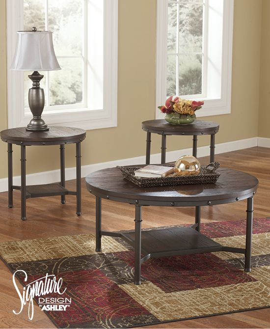 Best Sandling Occasional Table Set Ashley Furniture Living 400 x 300