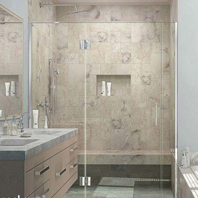Dreamline Unidoor X 58 X 72 Hinged Shower Door Trim Finish