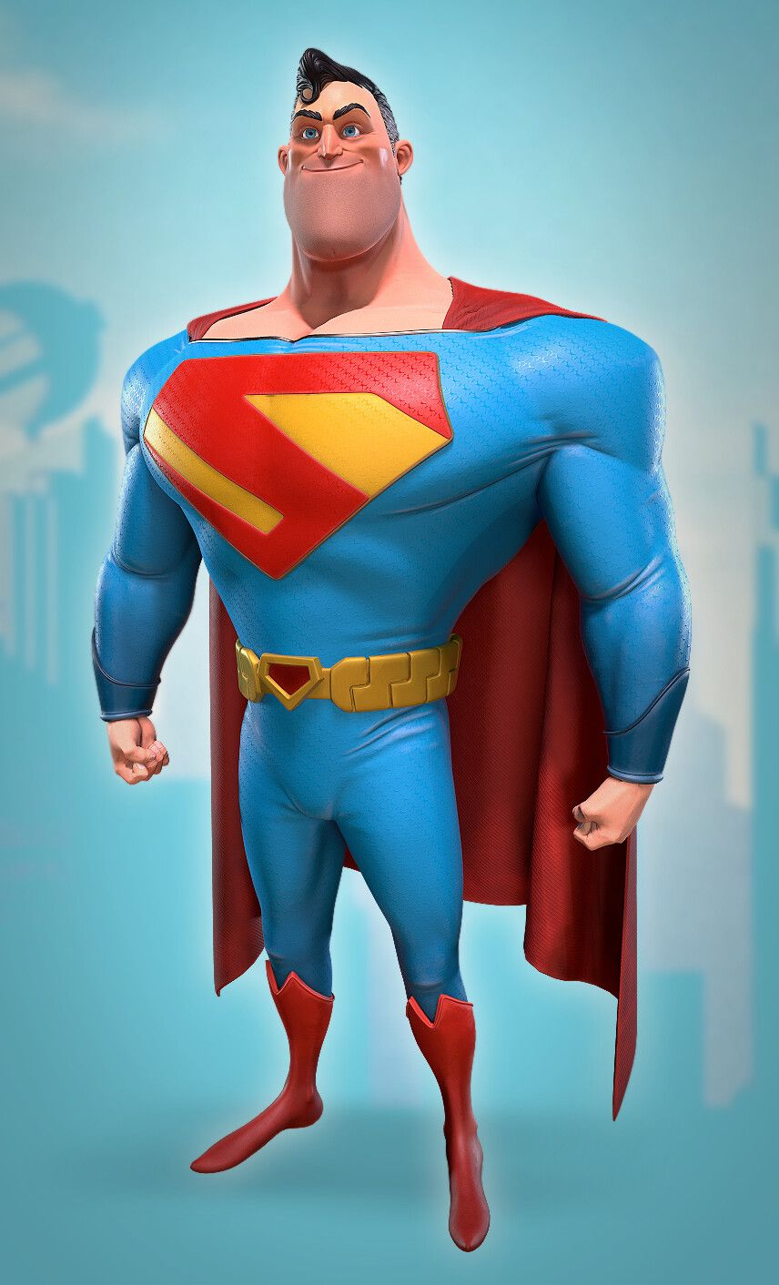 Superman Superhero Design Superman Art Superman