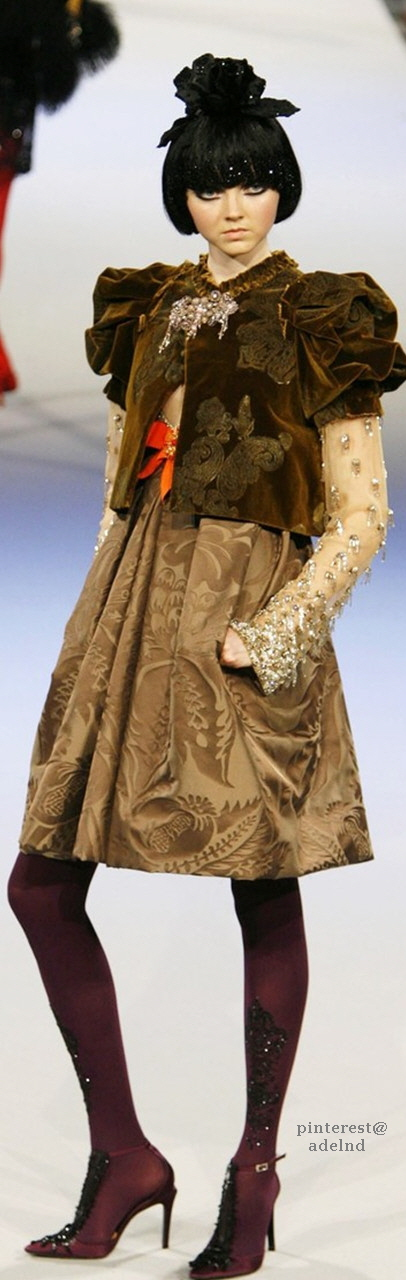 Christian Lacroix Fall 2006 Couture