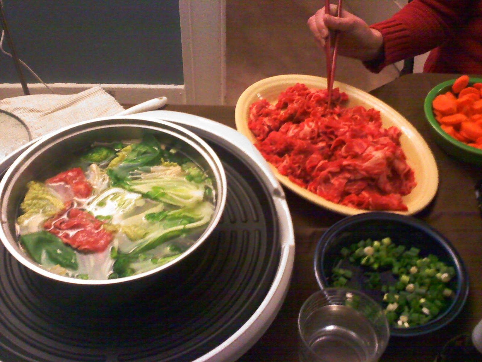 Jendela Dunia Sekitar Kita Resep Spesial Makanan Khas Jepang Shabu Shabu Is Shabu Shabu Resep Sup Makanan