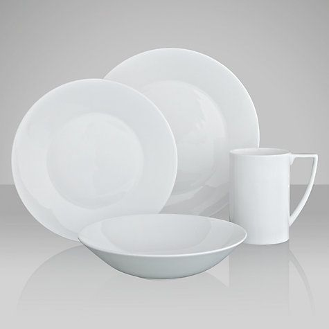 Buy Jasper Conran for Wedgwood White Online at johnlewis.com & Jasper Conran for Wedgwood White Tableware | Jasper conran Jasper ...