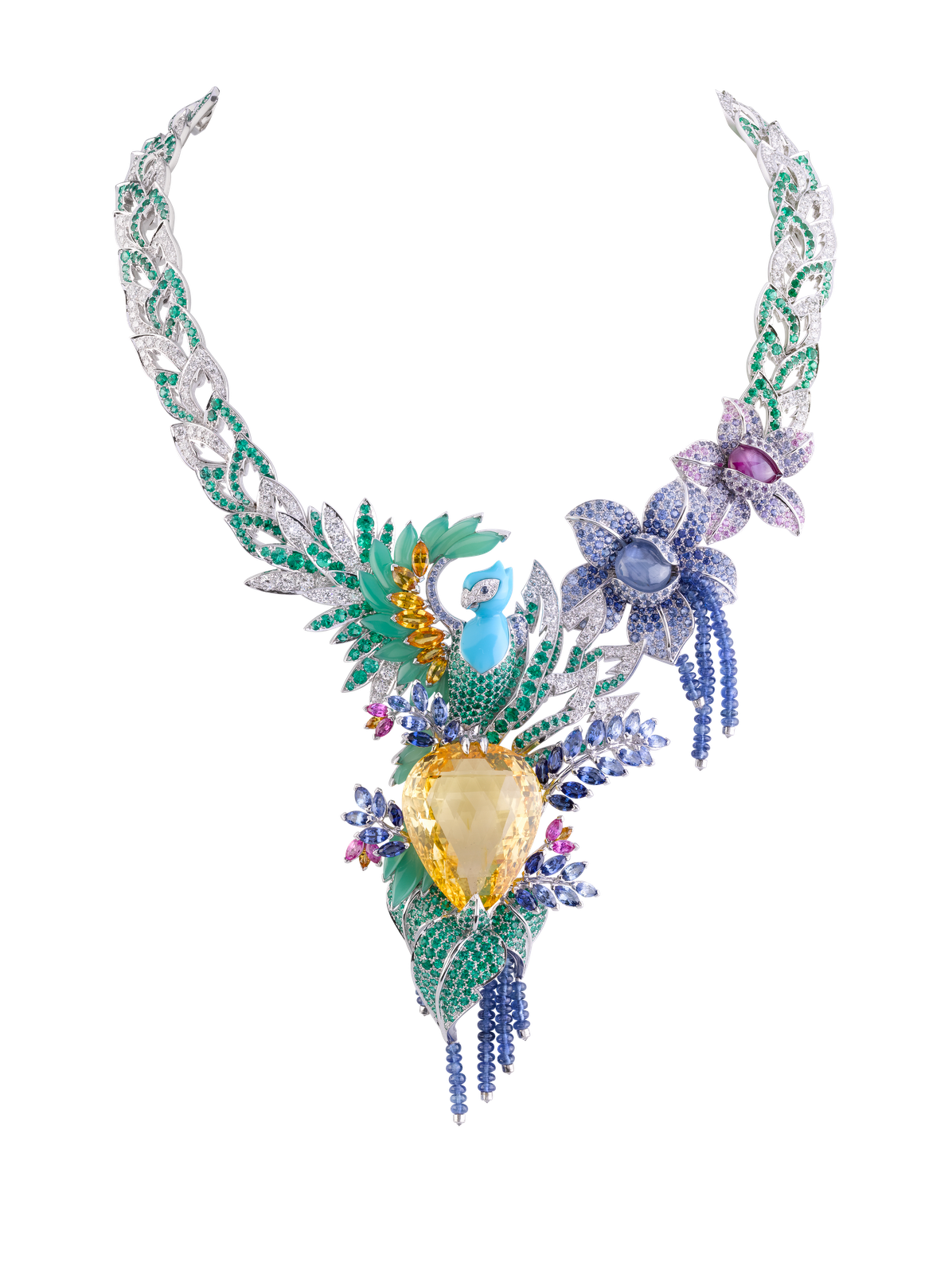 This Breathtaking Collar From Van Cleef Amp Arpels Just