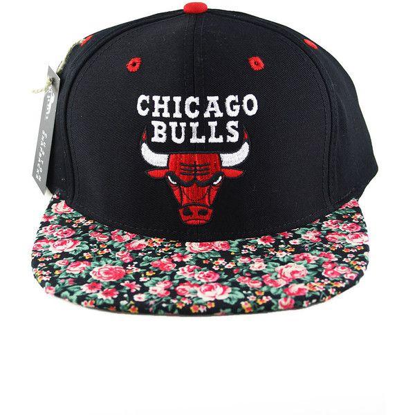 Agora Vintage Chicago Bulls Snapback Hat (195 NZD) found on Polyvore ... e95e55dd35e