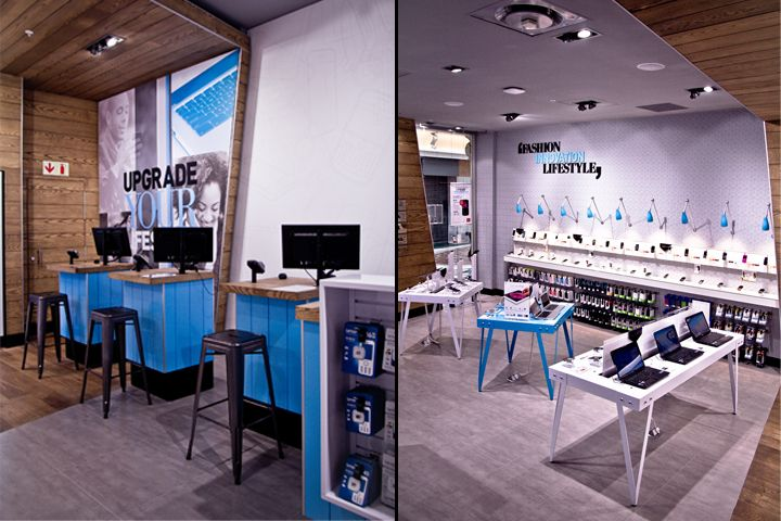 Hi store phone accessories repair service shop design to