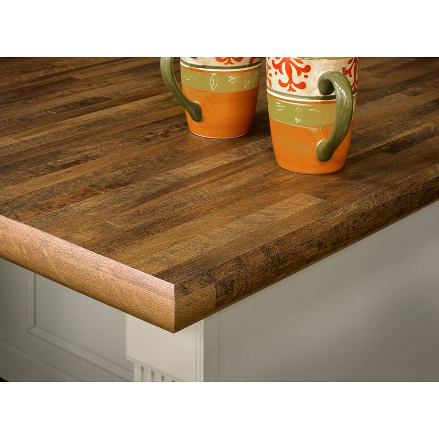 Wilsonart Premium 36 In X 96 In Old Mill Oak Soft Grain Laminate Kitchen Countertop Sheet 7973k 12 36x096 000