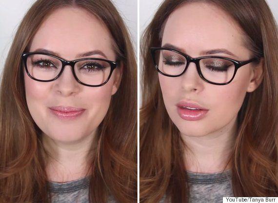 Tanya Burr S Eye Makeup Masterclass For Glasses Wearers Eye