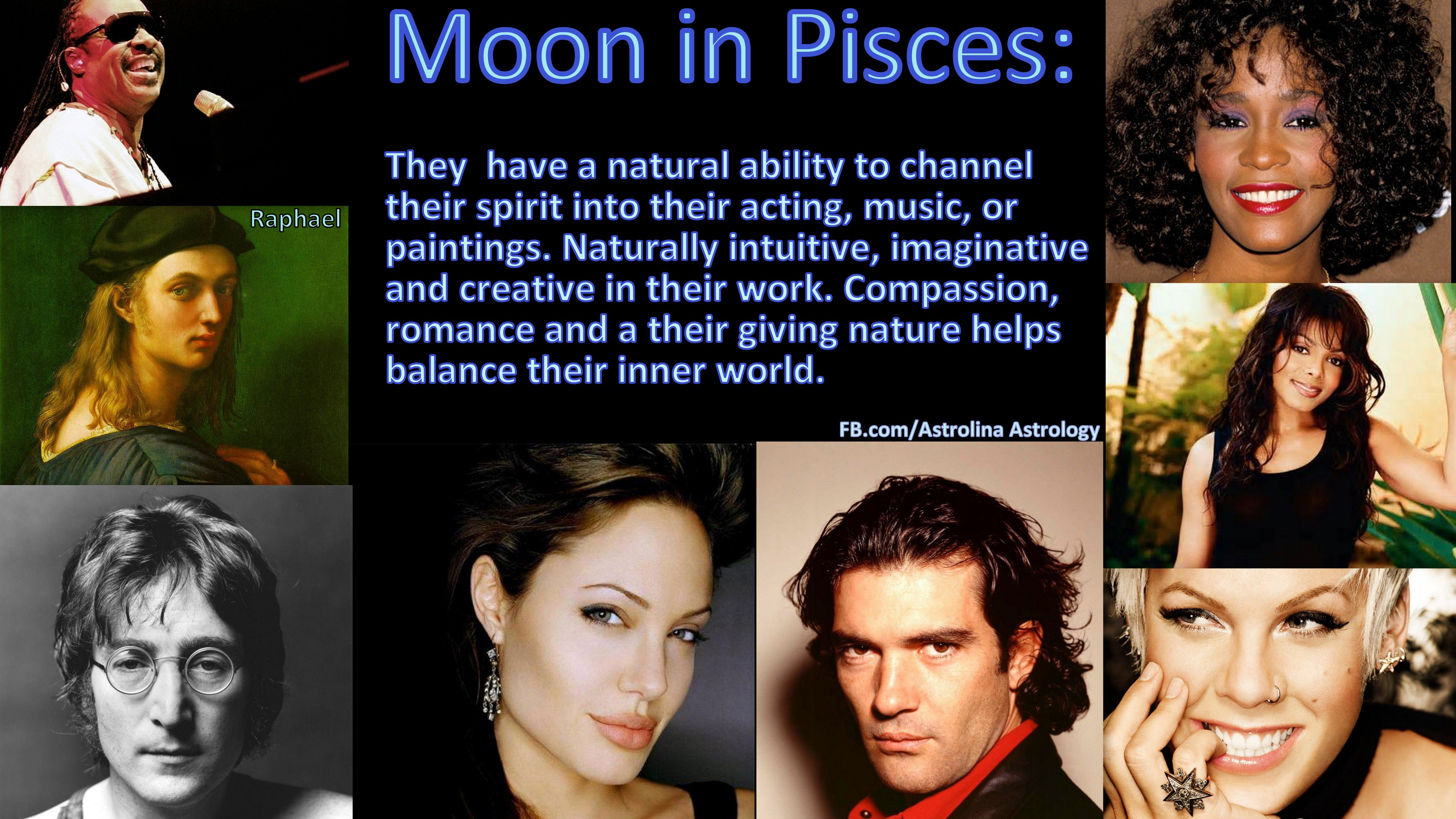 Moon in Pisces: Famous people  | Moon in Pisces | Pisces