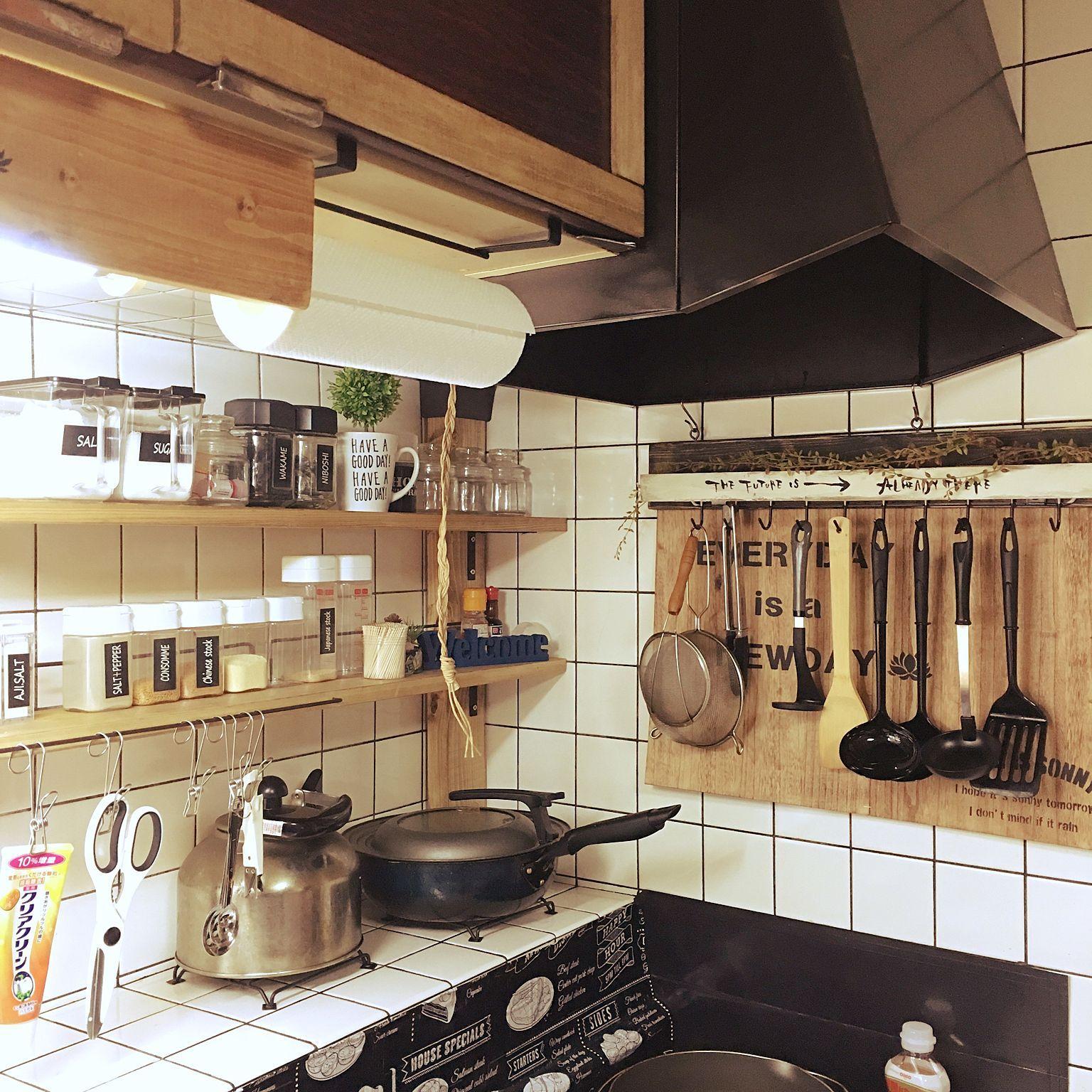 賃貸でも安心 Diyの必須アイテムのディアウォールの魅力をご紹介 アウトドアキッチン キッチン Diy 屋外キッチンデザイン