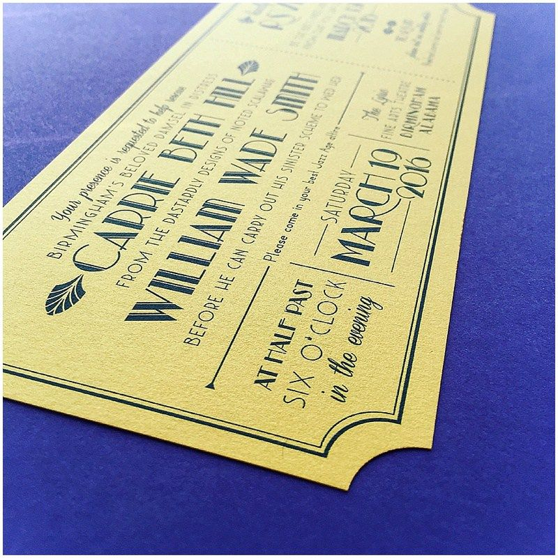 Ticket invitation for a wedding at the lyric theatre salt ticket invitation for a wedding at the lyric theatre stopboris Choice Image
