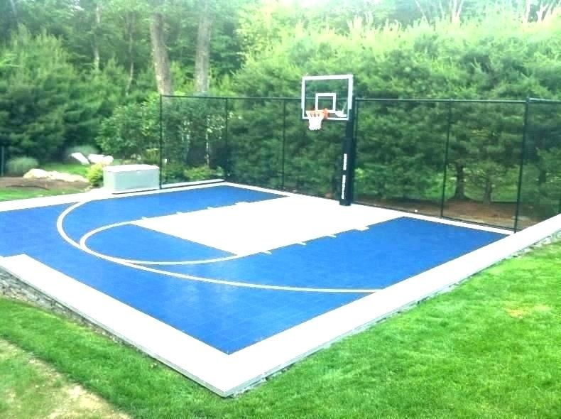 Sample Half Basketball Court Dimensions Images Basketball Court Backyard Outdoor Basketball Court Backyard Basketball