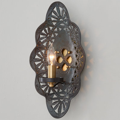 Feleena Sconce With Images Sconces Iron Wall Sconces Wall Sconce Shade