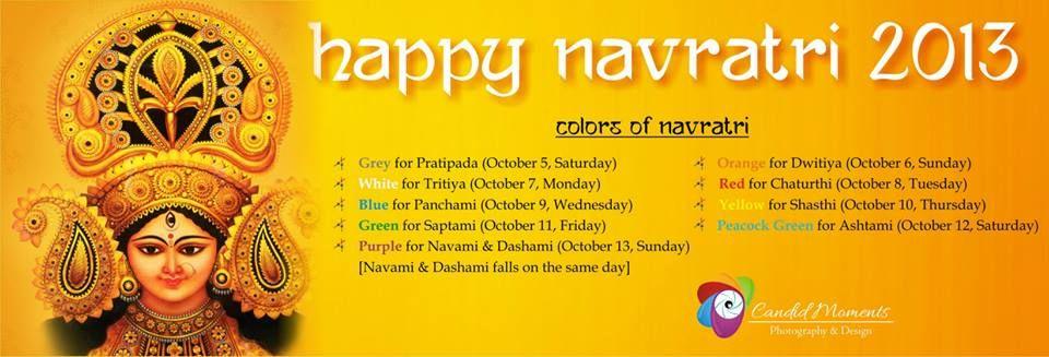 #Happy Navratri #Nine #Colors #Goddess #Indian Festival