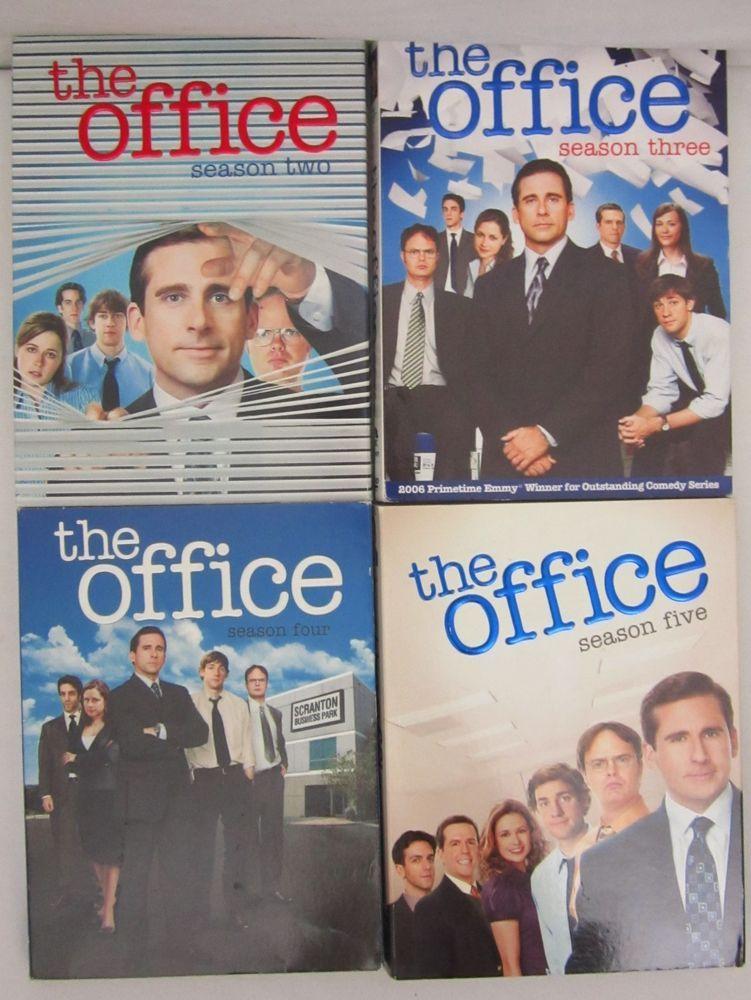 Dvd Lot Of 4 Complete Seasons