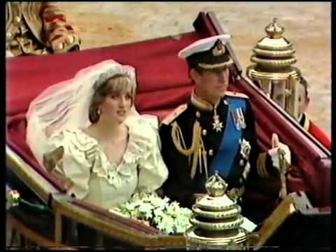 ▶ Royal Wedding of Charles & Diana july 29 1981 p8 - YouTube