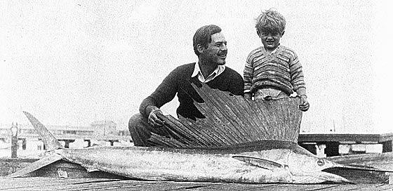 Ernest y Jack Hemingway en Key West 1929