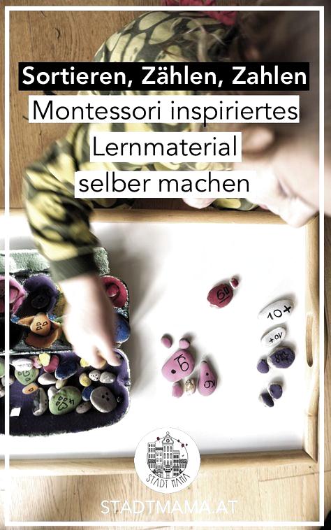 Lernen um zu lernen? Ich bin eher für Spielen und lernen oder spielerisch lernen nach Montessori. Ich habe den Kindern ein Montessori inspiriertes Lernspiel aus Eierkarton gebastelt und sie lieben es. Damit kann man Sortieren, Zahlen und Zählen üben. #montessori #montessoriinspiriert #spielerischlernen #kleineentdecker #lernspiel #mamablog #mamablogger #mamablogger_at #familienblogsAT