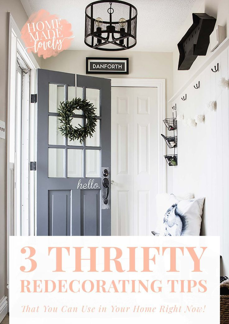 3 Thrifty Redecorating Tips That You Can Use In Your Home | Decorating,  House Goals And Beautiful Space