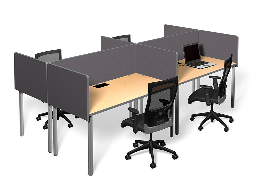 office desk dividers. Innovative Office Furniture - Frameless Fabric Desk Dividers For Privacy M