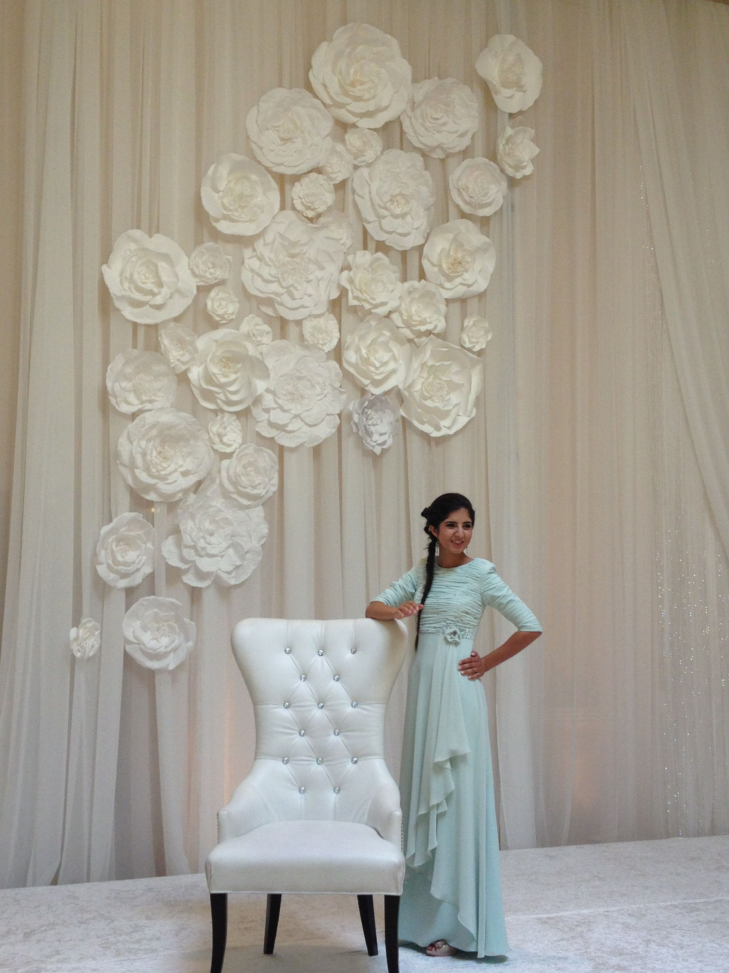 Flower wall for wedding By Maret Designs My Design Projects Pinterest