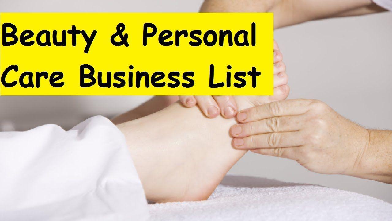 50 Profitable Beauty & Personal Care Business List
