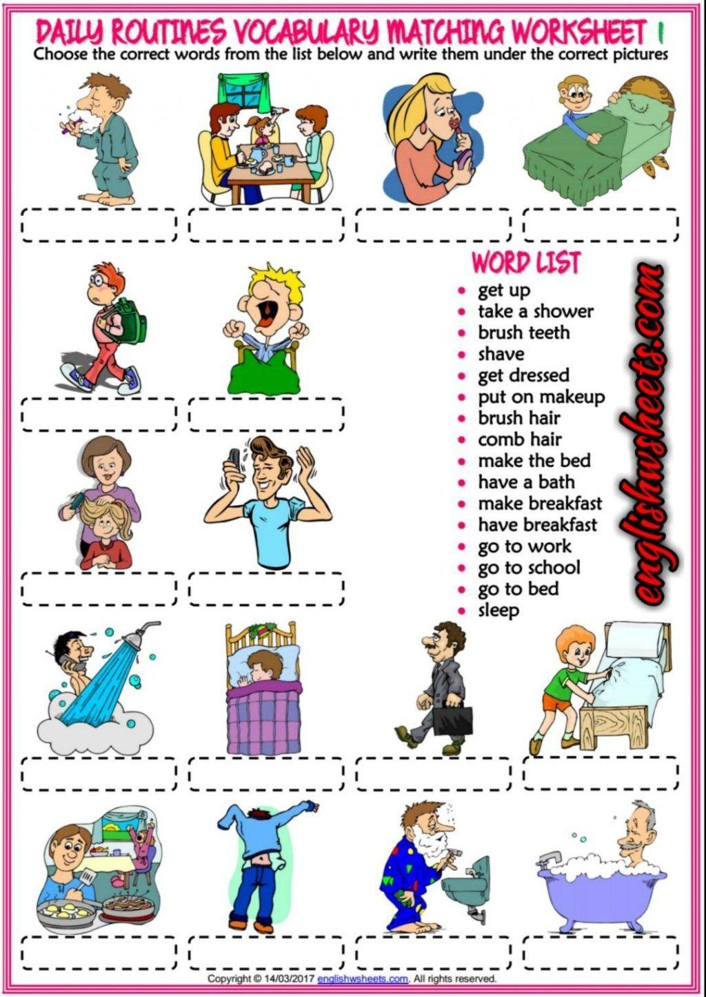 Exercise Worksheets For Kids Worksheet Chesterudell En