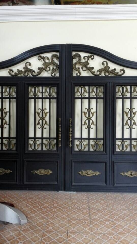 Cheap Design Of Main Gate, Buy Quality Design Amazon Directly From China  Designing A Vegetable Garden Suppliers: We Custome All Size Of Wrought Iron  Door ...