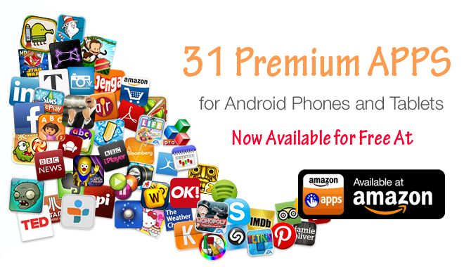 Amazon Mega Giveaway Download 31 Paid Android Apps Free