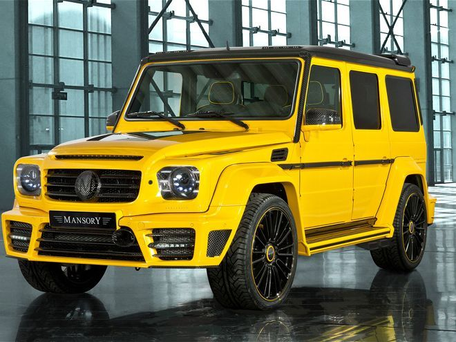 German Tuner Mansory Bringing Custom Mercedes Benz G Class Suvs To