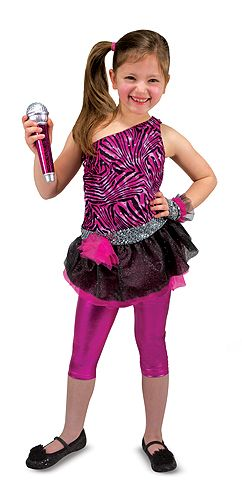 Rock Star Role Play Costume Set | Dress Up u0026 Costumes | Melissa and Doug  sc 1 st  Pinterest & Rock Star Role Play Costume Set | Dress Up u0026 Costumes | Melissa and ...