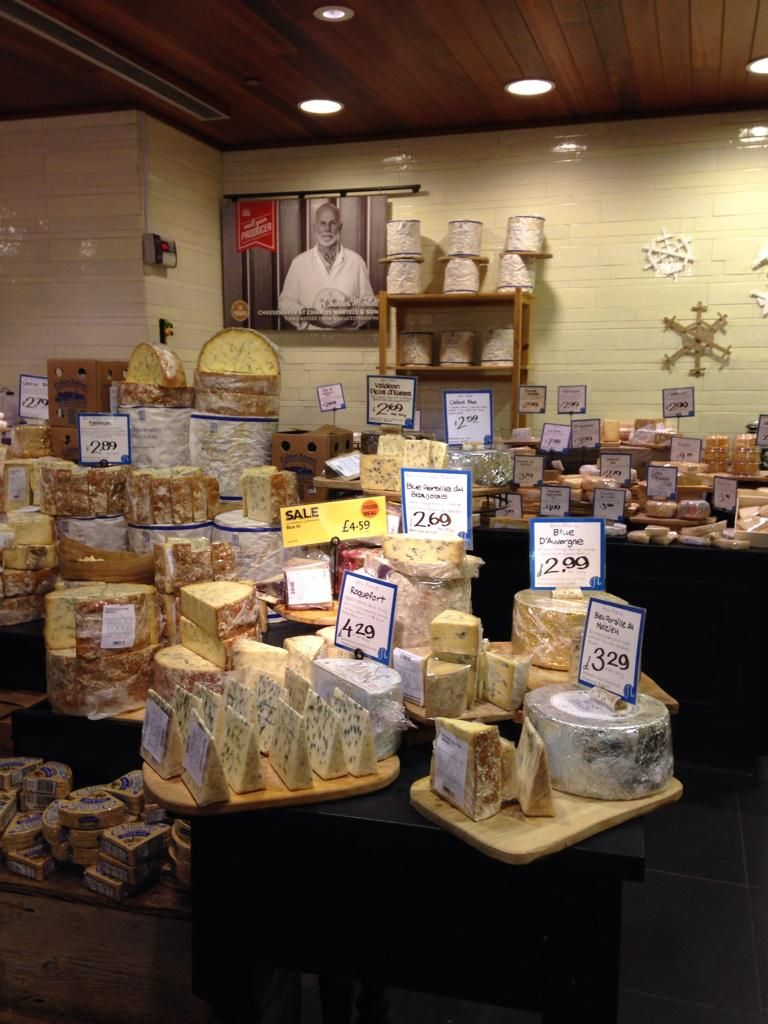 Whole Foods Market, UK Cheese room